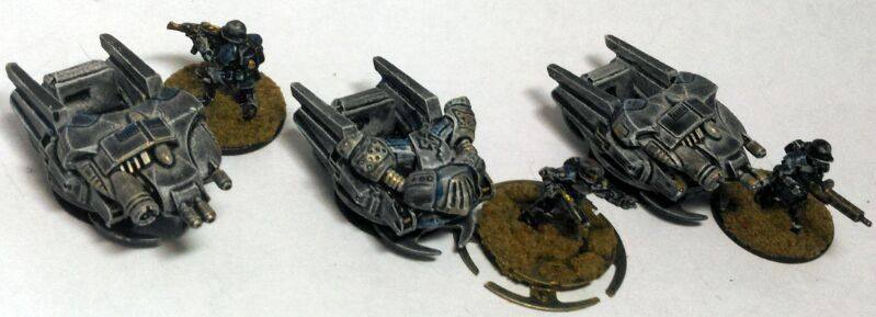 15mm Nathi Hoverbikes by Spielorjh