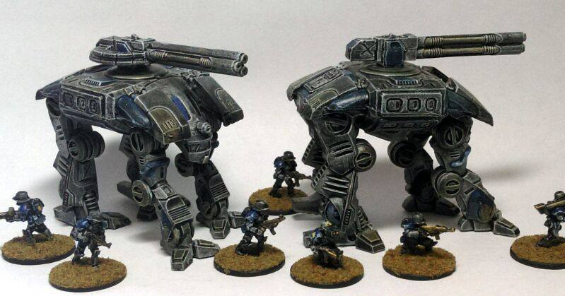 15mm Nathi Walkers by Spielorjh