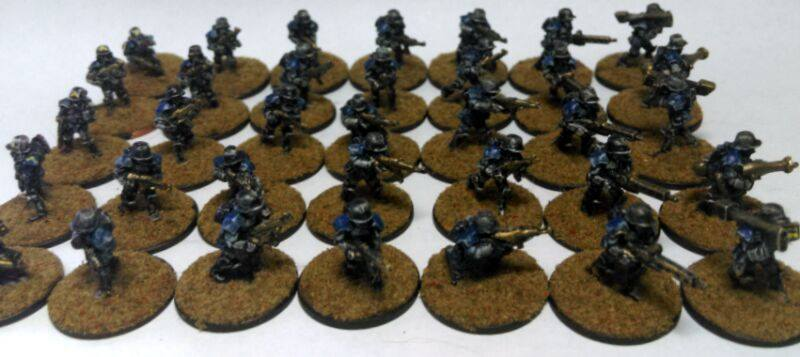 15mm Nathi Platoon by Spielorjh
