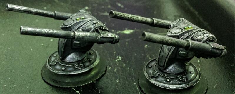 Garoum 'Eisenfrosch' battlesuits by Spielorjh