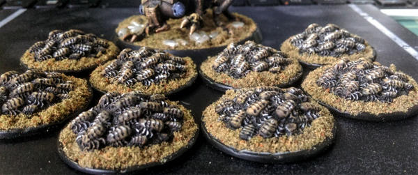 15mm Hhlict nymph swarms by Spielorjh