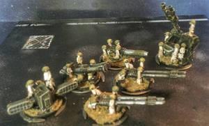 15mm Meerkats:  Heavy Weapons by Spielorjh