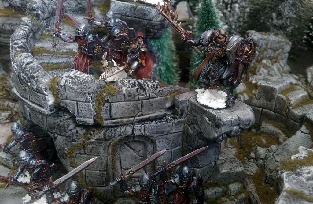 Crusaders warband by Spielorjh