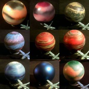 Planets from Ornaments