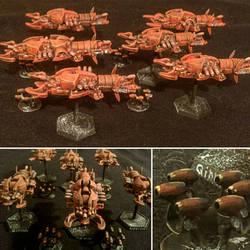The Rikkit Fleet by Spielorjh