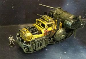 Gaslands - Wrobert the Wrecker