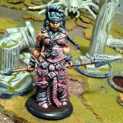 Vanja, Fire Giantess