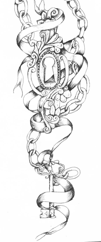 Key And Lock Tattoo By Vixygoldustpixy On DeviantArt