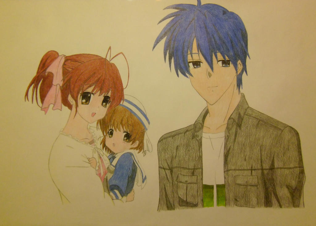 Nagisa Ushio And Tomoya Okazaki Clannad By Allissei On Deviantart