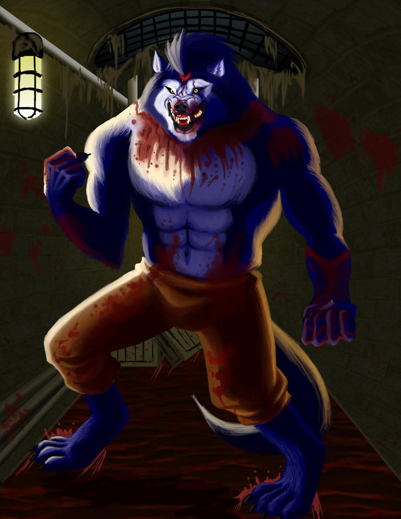 Outlast Wolf by EclecticNinja