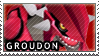 Groudon Stamp by Itzagual