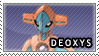 Deoxys Stamp