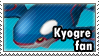 Kyogre Stamp by Itzagual