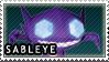 Sableye stamp by Itzagual