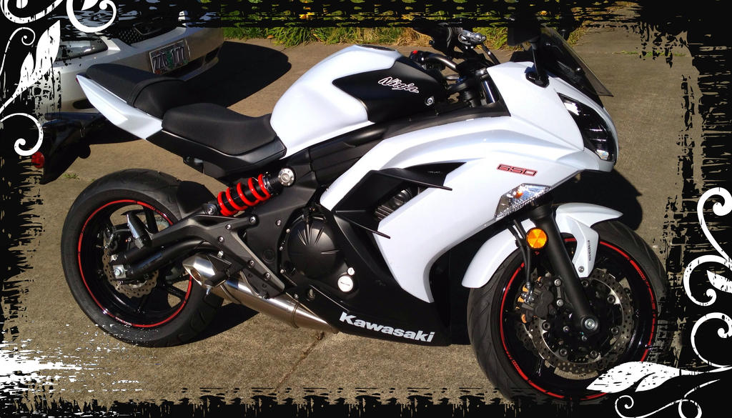 2013 Kawasaki Ninja 650 by talendrife on DeviantArt