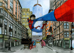 Luffy the spiderman