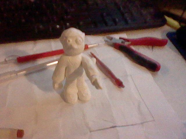 Anthony Smith Figure Sculpt Not baked by Plokman626