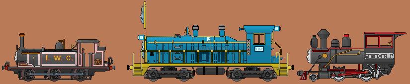 Ten Engines of Christmas by Plokman626