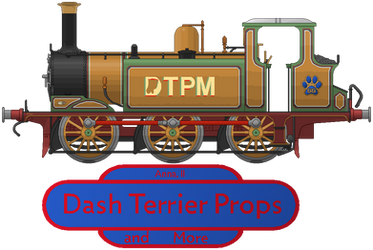 Dash Terrier Props and More Logo