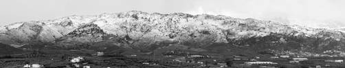 Kampia Mountains in Chania by 60215
