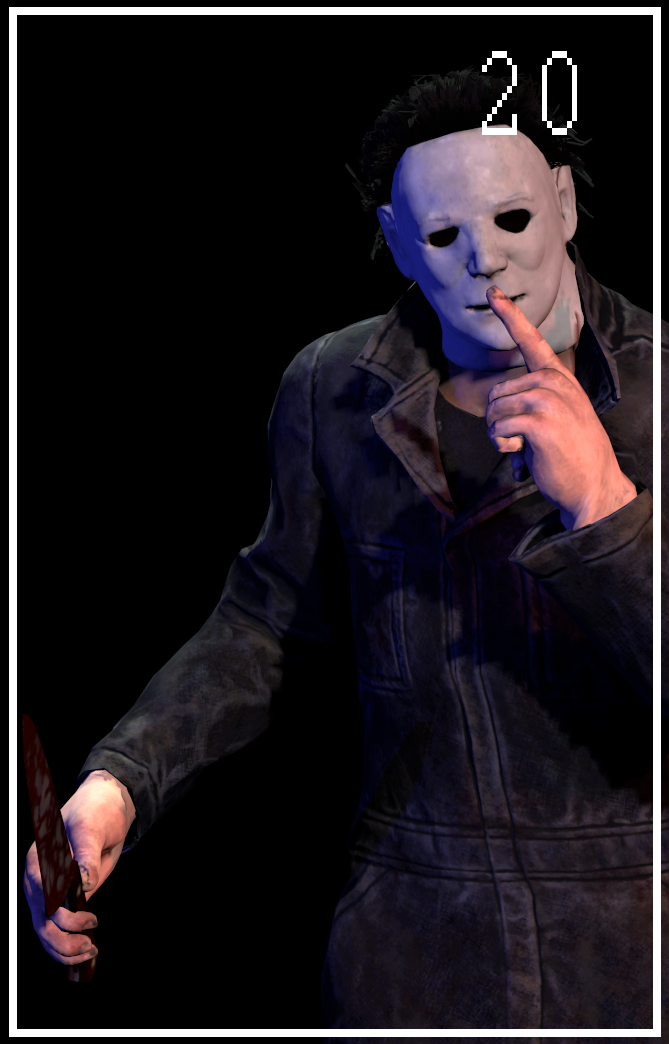 Character Roster [Michael Myers] by ASRIELDREEMURRRRRR