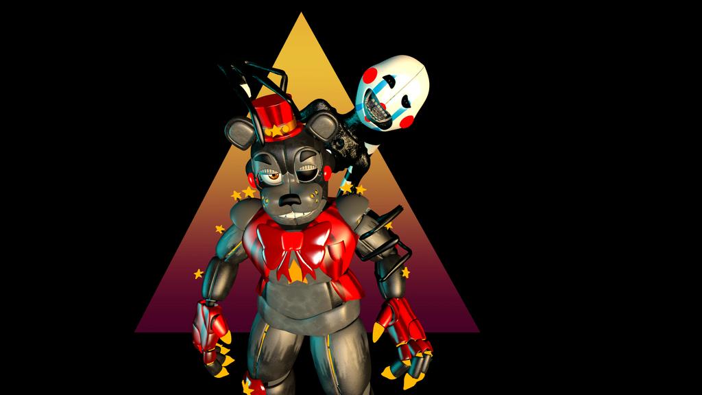 Advanced Lefty and Puppet by ASRIELDREEMURRRRRR