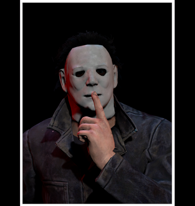 Character Roster: Michael Myers Mugshot (Redo) by ASRIELDREEMURRRRRR