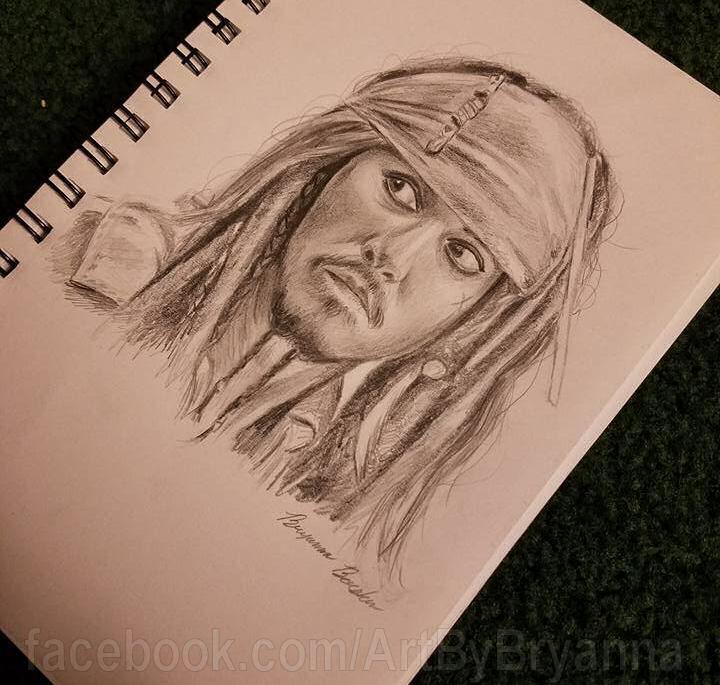 Captain Jack Sparrow by ArtByBryanna