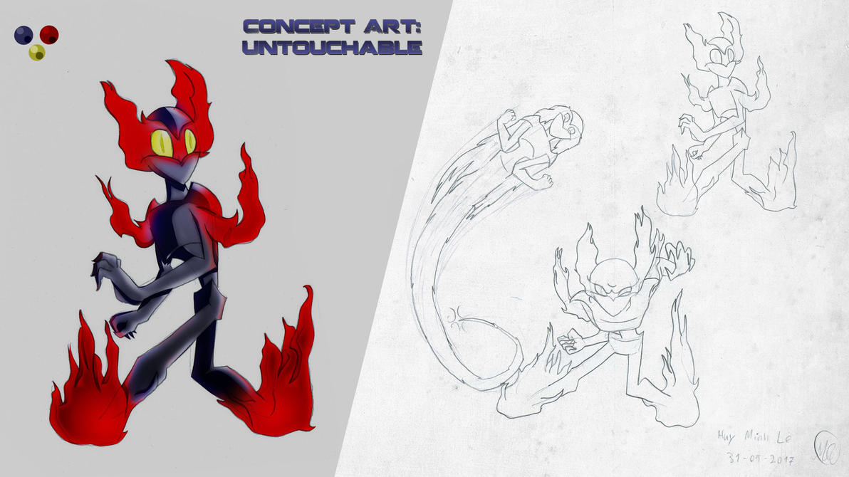 Untouchable Concept Art by XNinjaRed