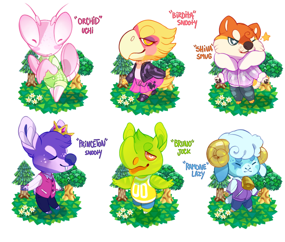 Animal Crossing Villager Adopts Closed By Gatorstooth On Deviantart