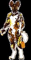 [OTA] golden painted dog by gatorstooth