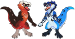 Birdy Dinos 2 - $15 by gatorstooth