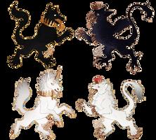 Heraldic Beasts - SOLD