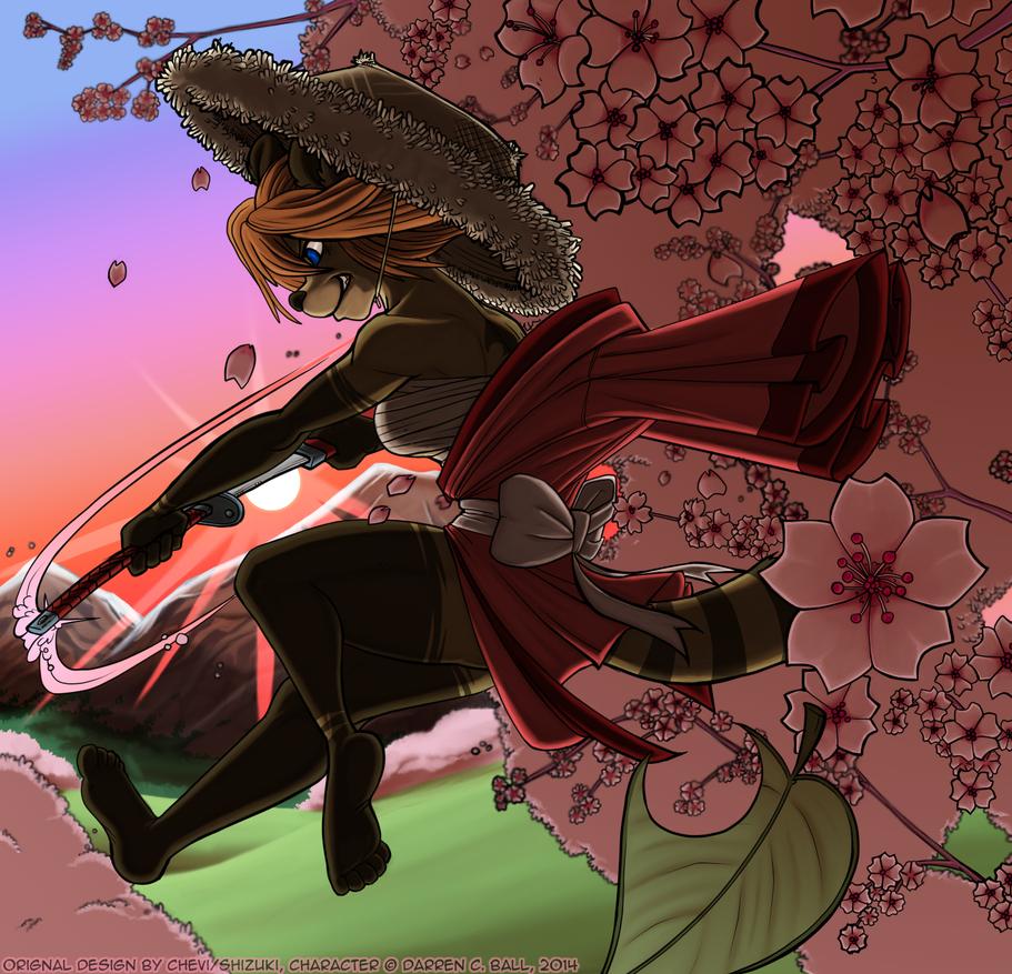 Magic Tanuki Gal by d6016
