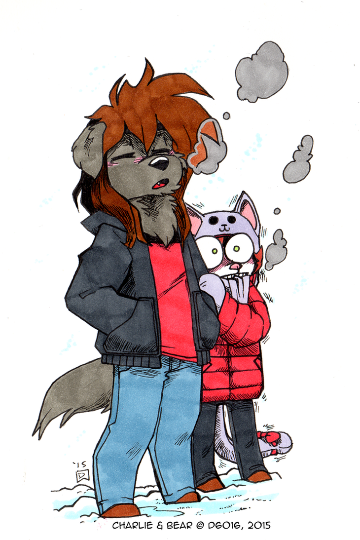 Daily Newf 333 - It's not that cold by d6016
