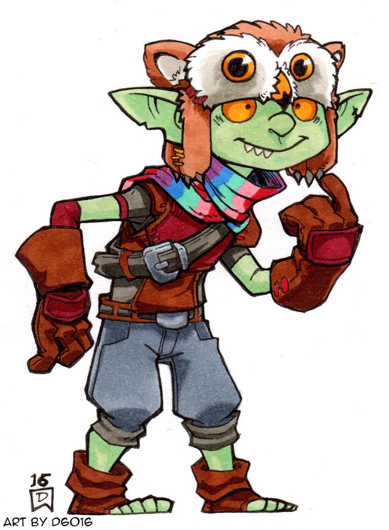 Goblin Sidekick by d6016