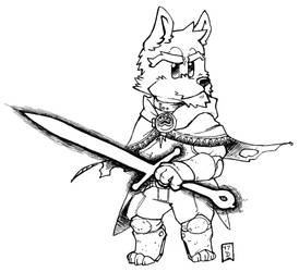 Inktober 06 - Sword by d6016