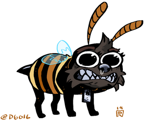 Heck off i'm a bee