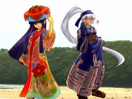 Ryusou and Chimip