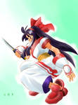 Nakoruru in action