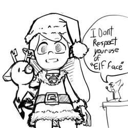Hilda Christmas Doodle
