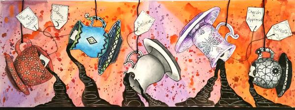 Art journal 1 by SamanthaJordaan