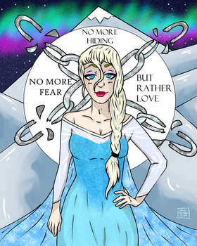 Elsa + POSTER ON REDBUBBLE + MORE STUFF
