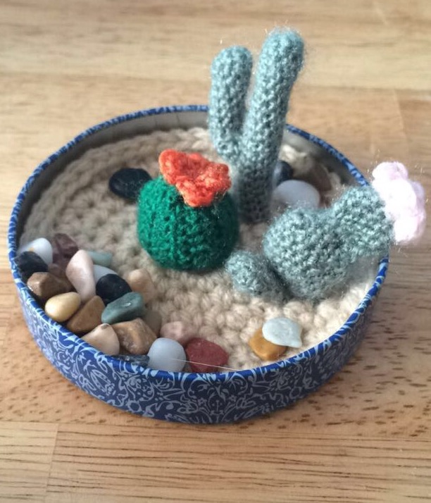 Mini Cacti Garden by PurpleTakara