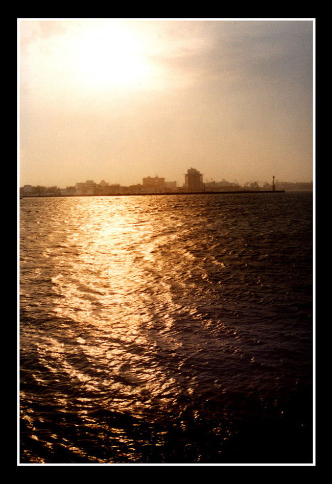 Afternoon at Veracruz Bay by chare-stock