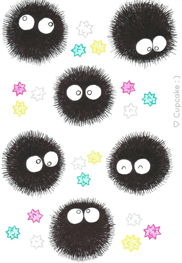 Soot Sprites by Cupcake-SmileyFace