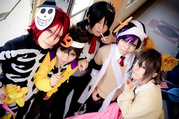 Hakuouki SSL halloween ver by kushiyaki-group