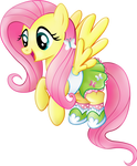 Fluttershy Equestria Girls casual clothes.