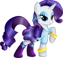 Rarity Equestria Girls casual clothes.