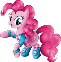 Pinkie Pie Equestria Girls casual clothes.